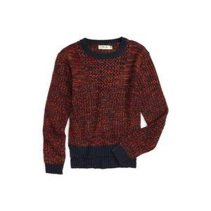 Miss Me Girl's Knit Sweater Pullover Multicolor